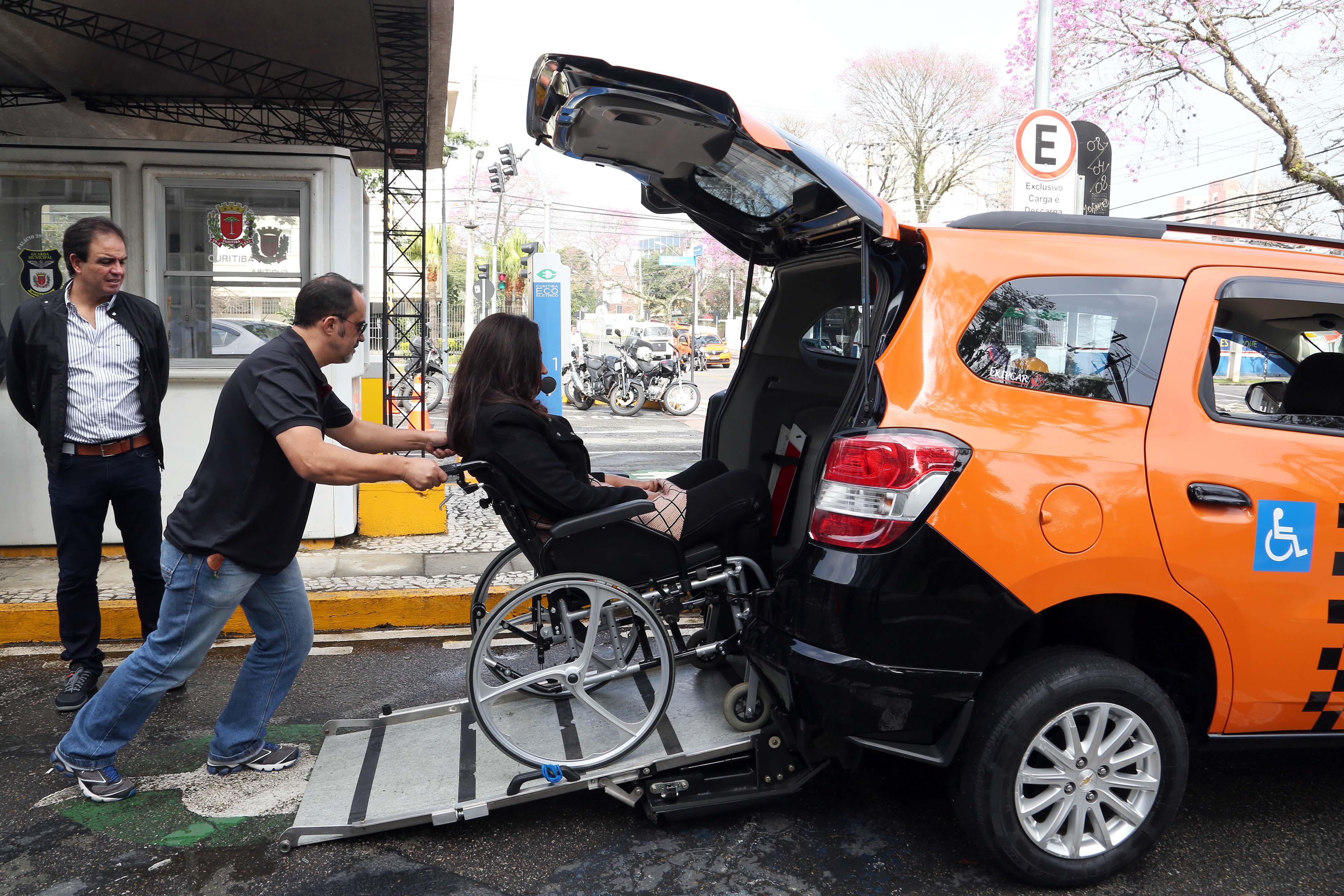 Existe Uber para Cadeirante em Curitiba?